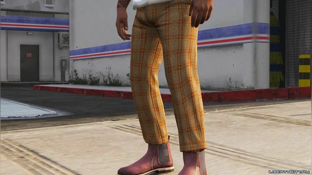 Pants and shorts Franklin Cropped Trousers for GTA 5