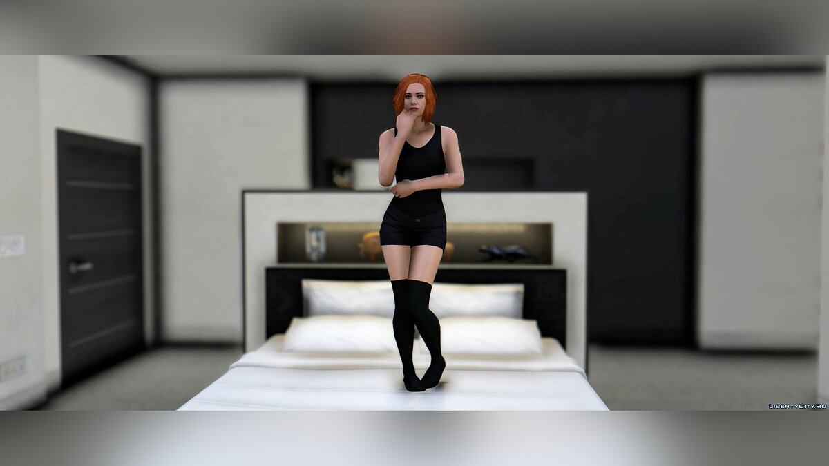 Pants and shorts High Socks for MP Female for GTA 5