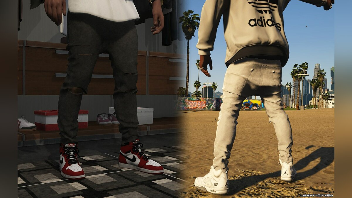 Pants and shorts Sagged skinny jeans for Franklin 2.0beta for GTA 5