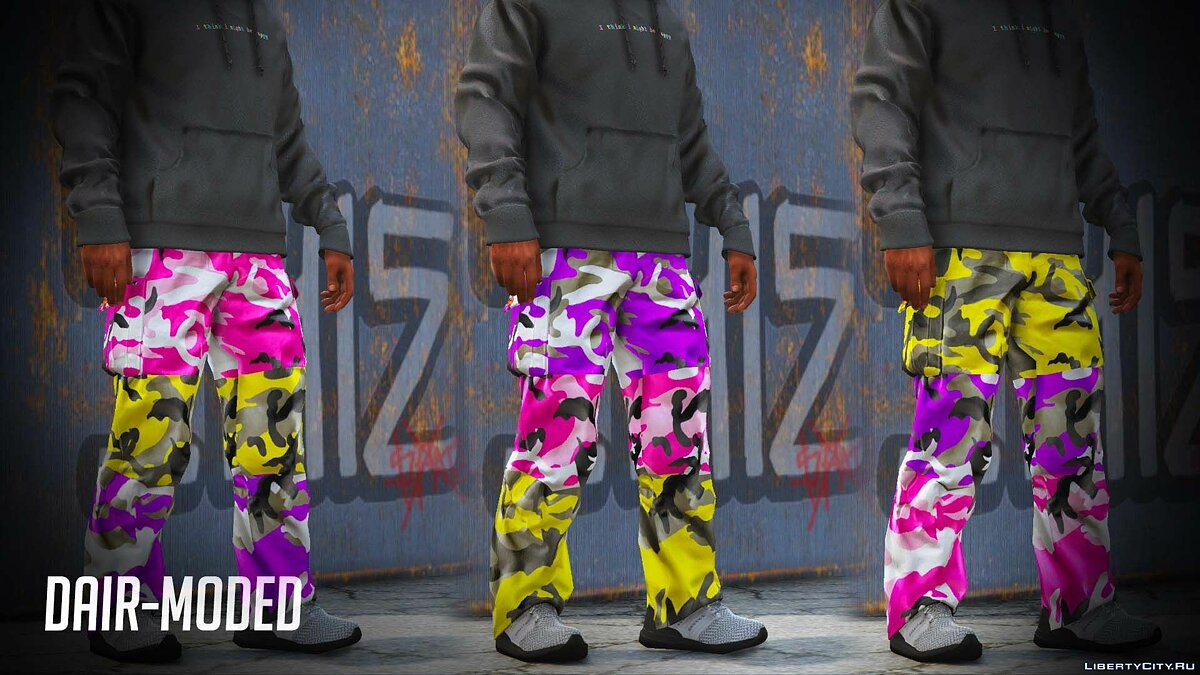 Pants and shorts Collection of camouflage pants company