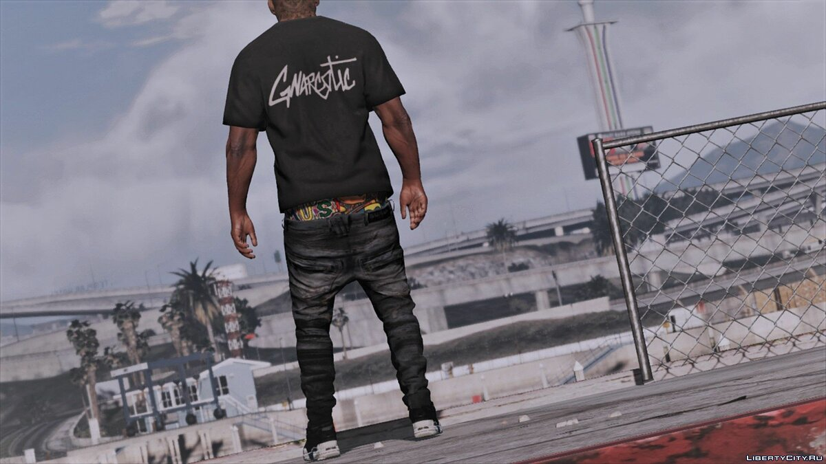 Pants and shorts Lowered pants BALMAIN for GTA 5