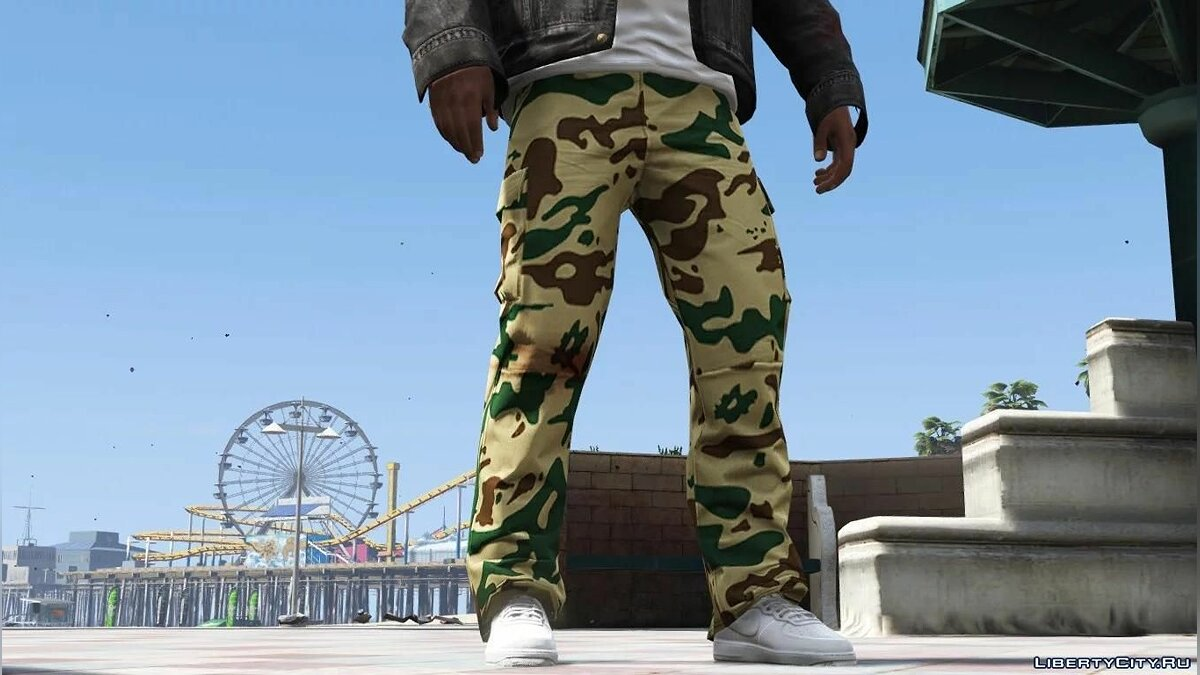 Pants and shorts Cargo Pants for Franklin for GTA 5