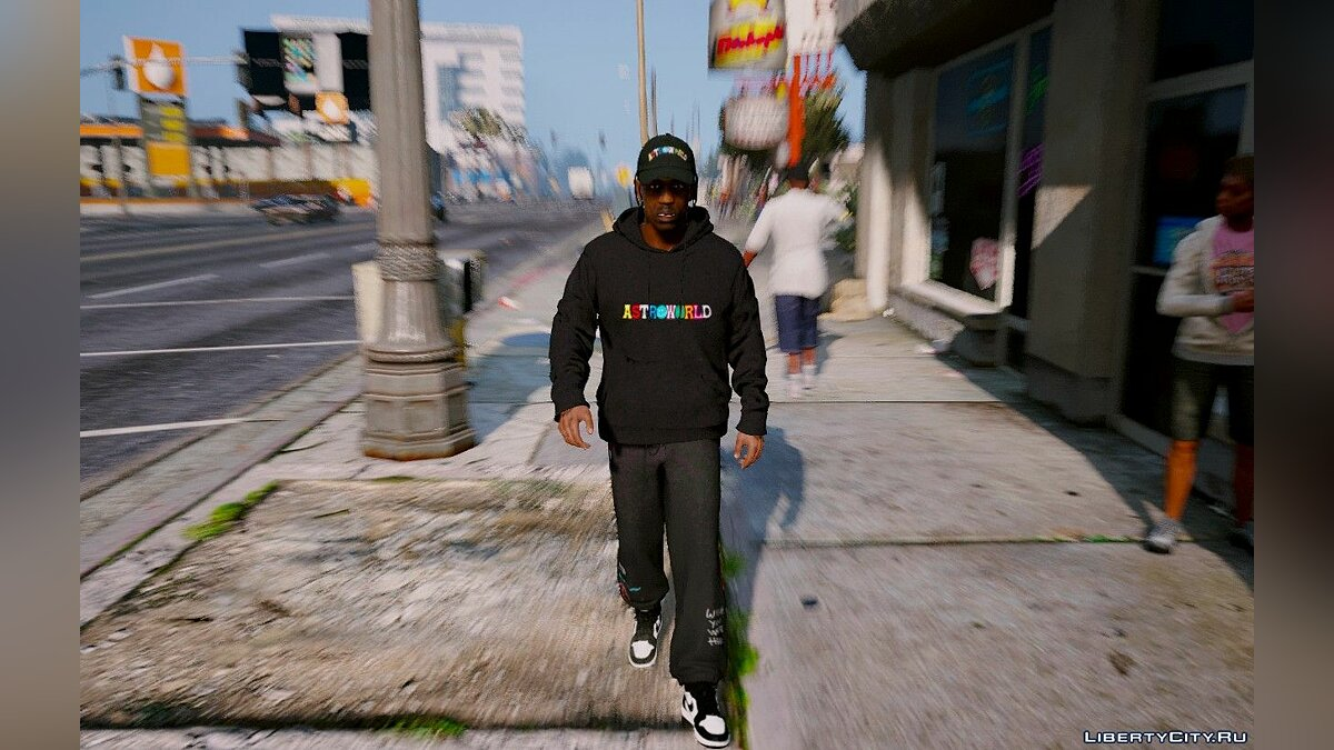 Pants and shorts ASTROWORLD Pants 1.0 for GTA 5