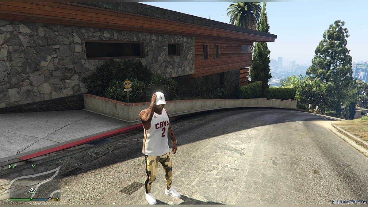Pants and shorts Camouflage pants for Franklin for GTA 5