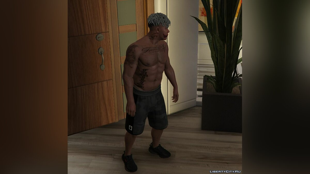 Pants and shorts Branded A Bathing Ape Shorts for Franklin for GTA 5