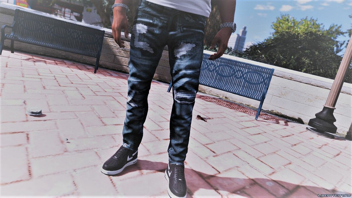 Pants and shorts Jeans BALMAIN for GTA 5