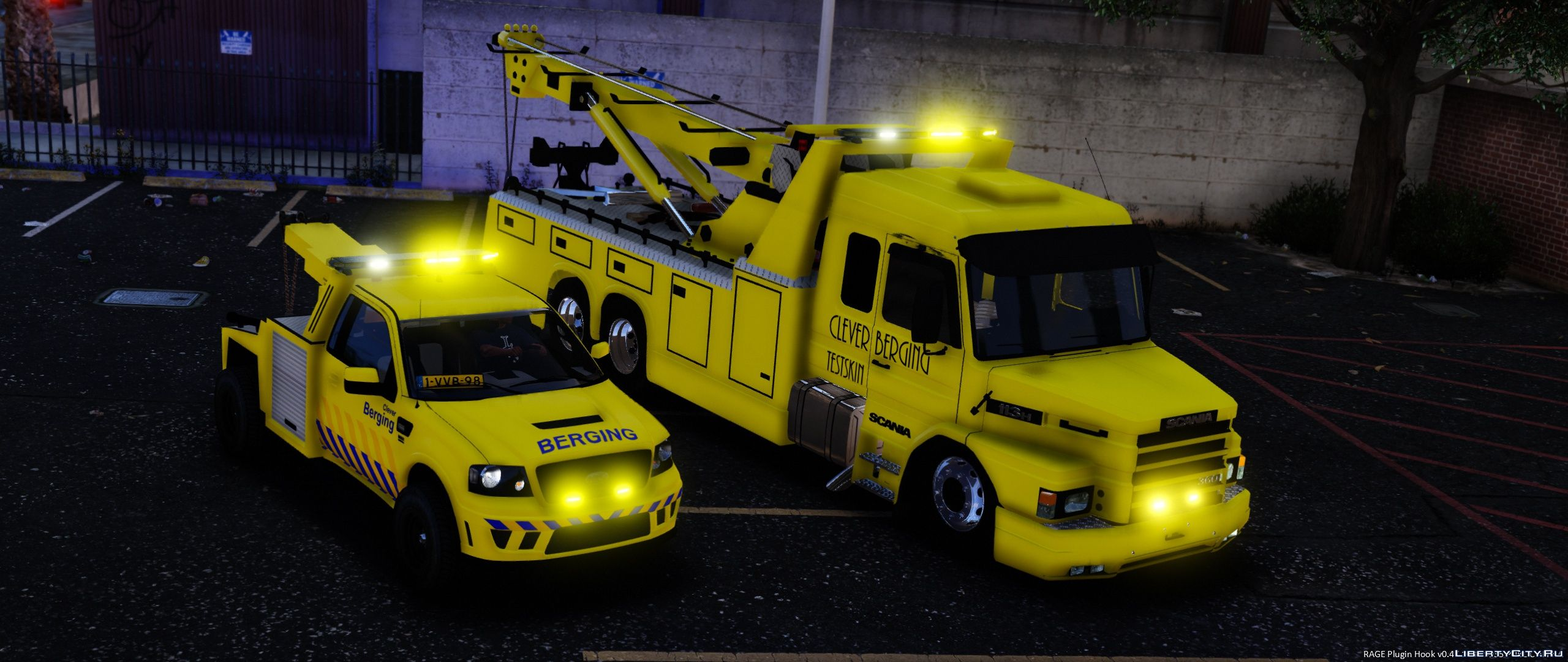 Scania Dutch Towtruck [Template] 1 1 for GTA 5