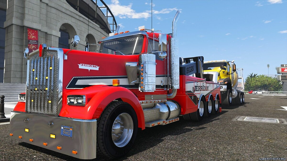 Truck 2000 Kenworth W900 Heavy Duty Wrecker [Add-On | FiveM | Template | ELS] 1.0 for GTA 5