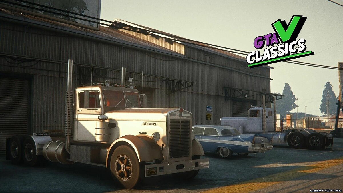 Truck 1949 Kenworth 524 [Add-On | LODs] 1.0 for GTA 5