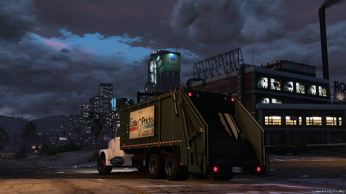 Brute Tipper-based Trashmaster Classic [Add-On] v1.1 for GTA 5 - screenshot #4