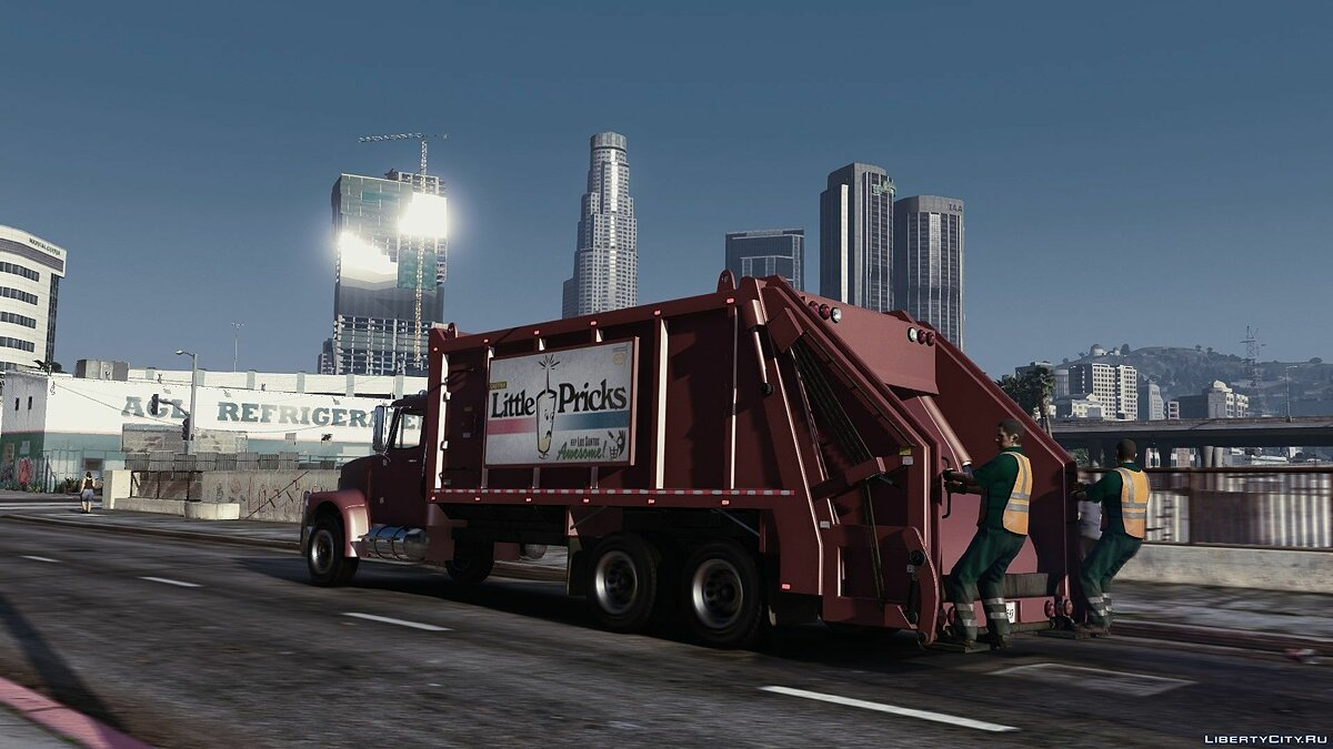 Brute Tipper-based Trashmaster Classic [Add-On] v1.1 for GTA 5 - screenshot #6
