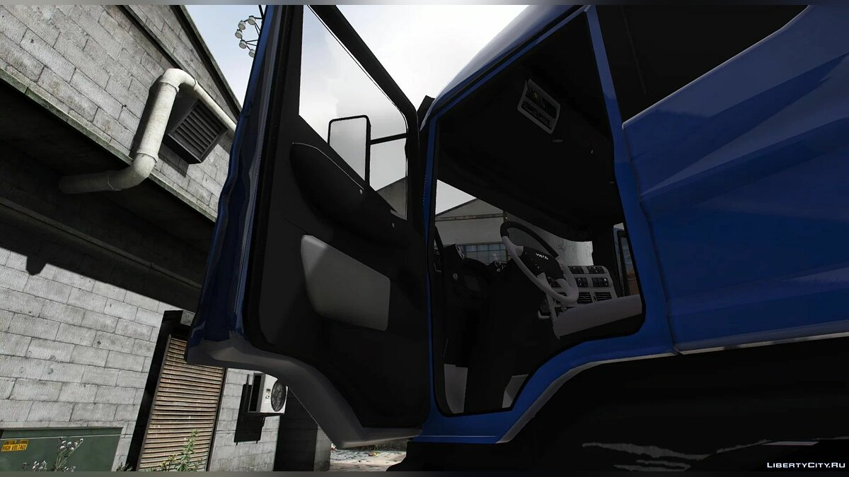 Truck Iveco Stralis Flatbed [UNLOCKED] [REPLACE] for GTA 5