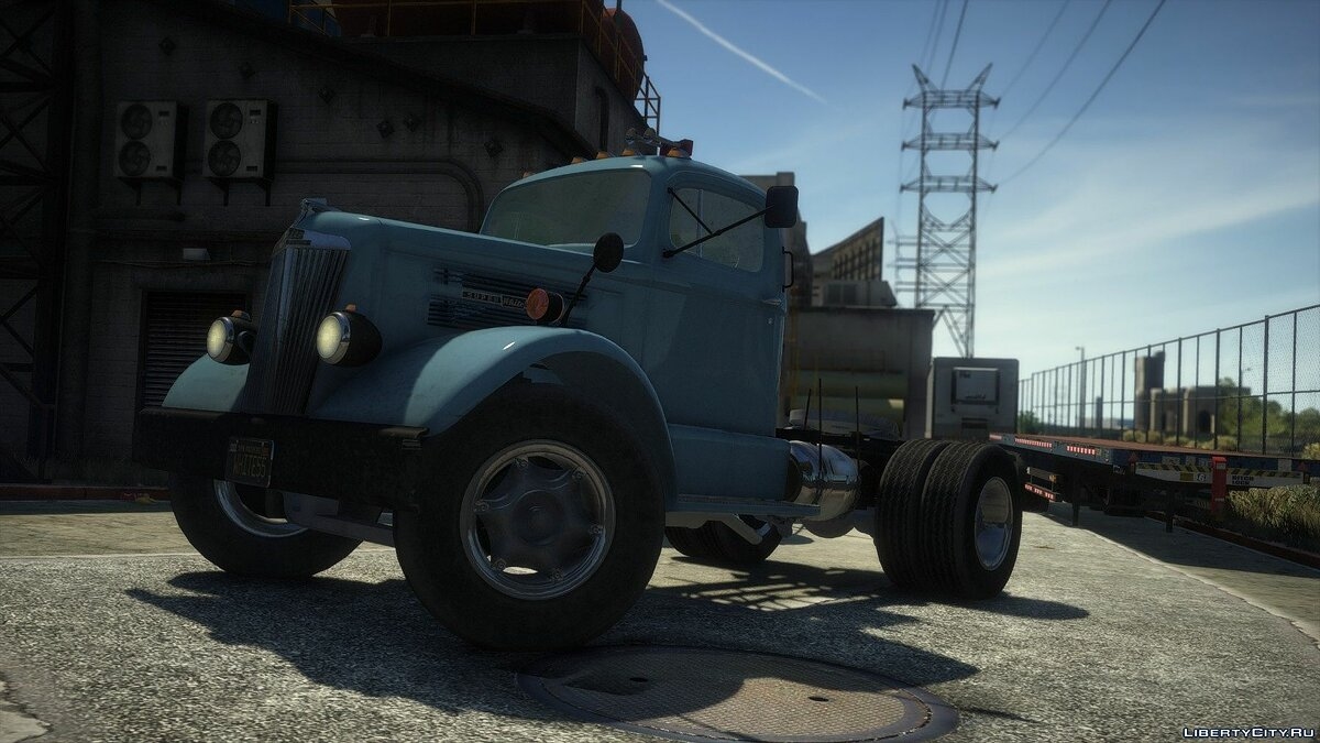 Truck 1955 White WC-22 [Add-On | LODs] 1.0 for GTA 5