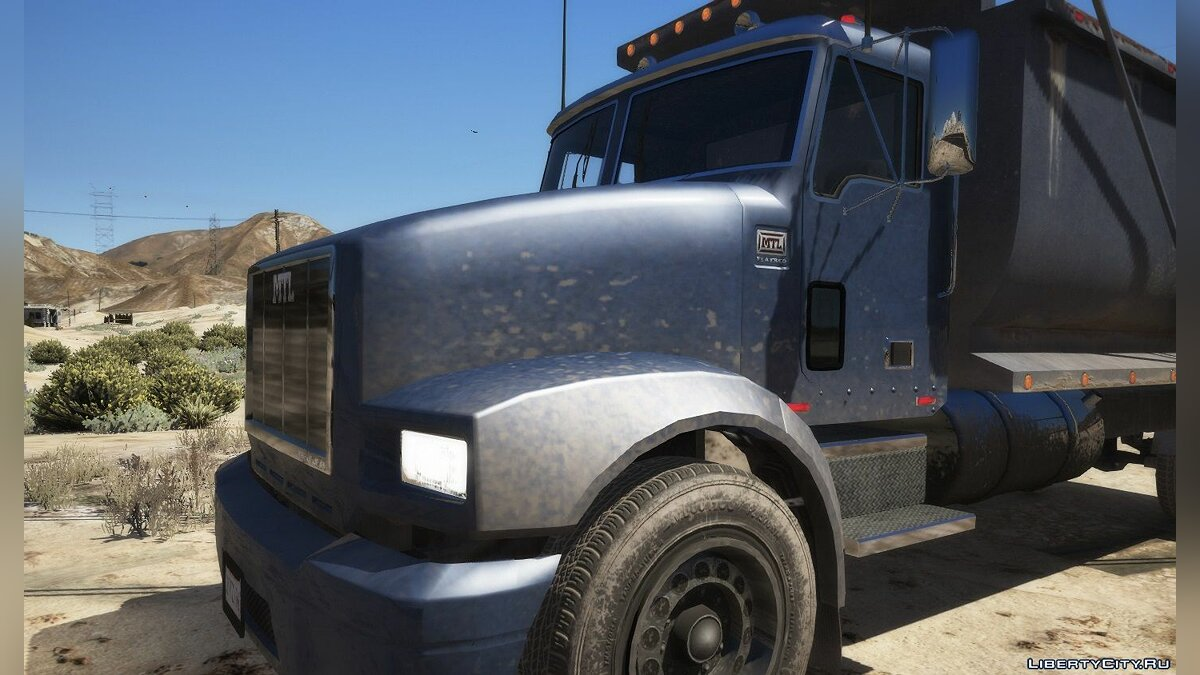 Truck MTL Rubble [Add-On | Replace] 1.1 for GTA 5