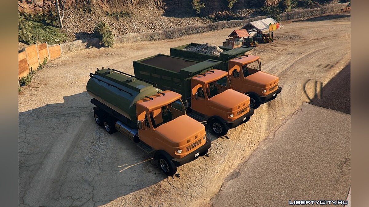 Truck Mercedes-Benz L2624 [Replace] 2.0 for GTA 5