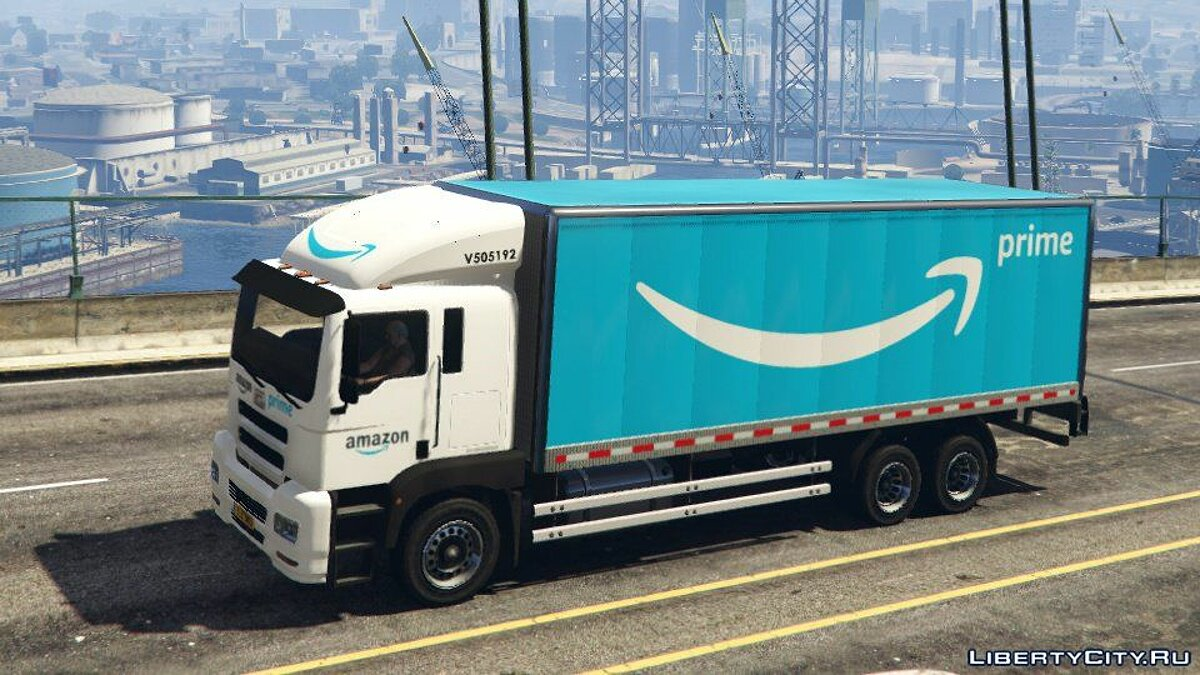 Truck Brickade Pounder [Replace] 1.0 for GTA 5