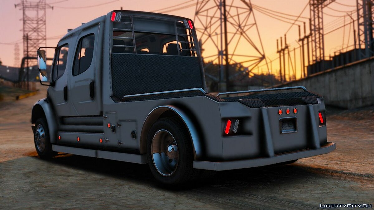 Truck 2013 Western Hauler M2 Freightliner Crew Cab [Add-on] 1.0 for GTA 5