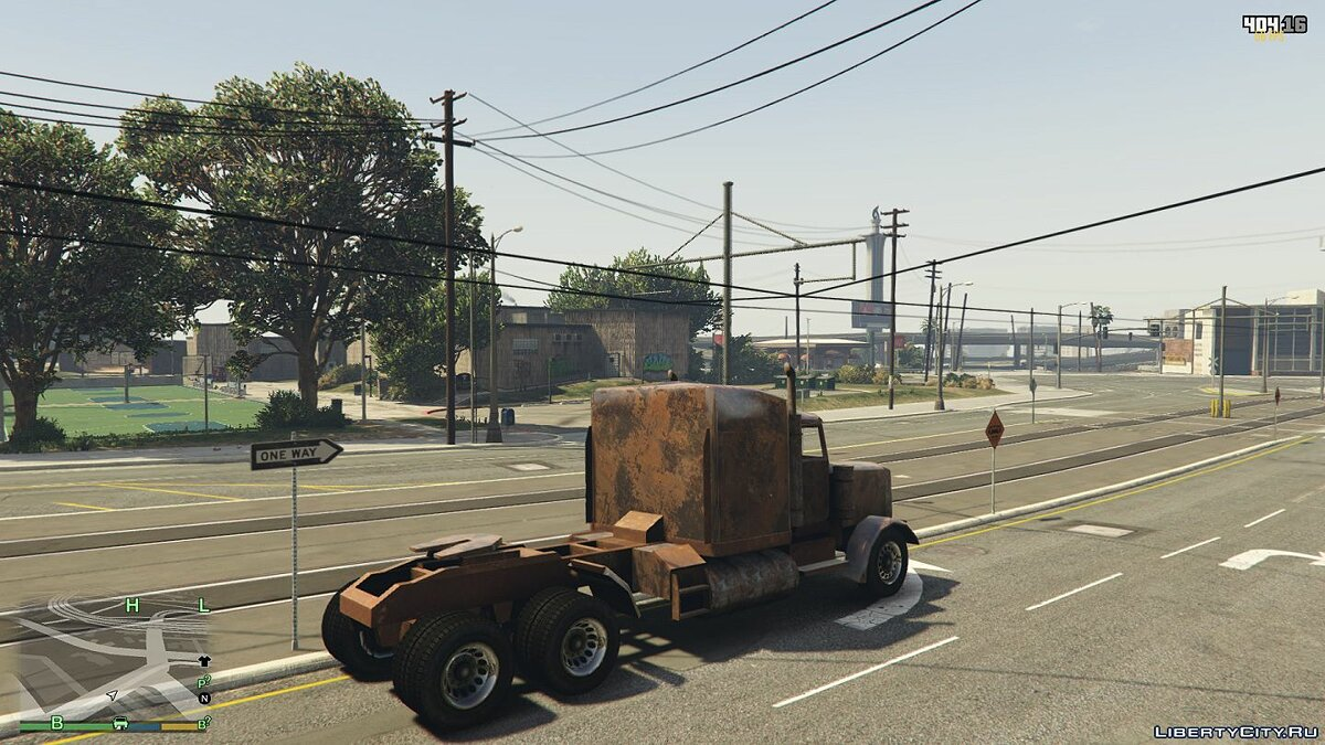 Truck Old rusty truck for GTA 5