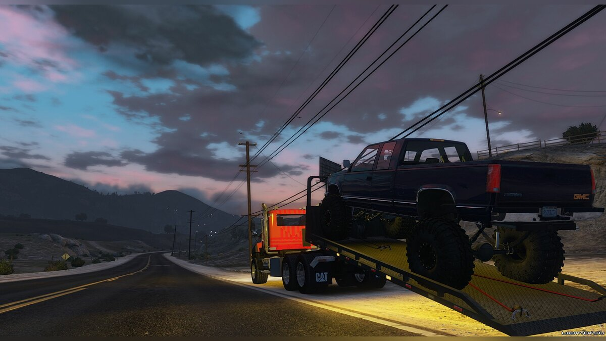 Truck 2016 CAT CT660 Tow Truck [NoN-ELS][Livery][Add-On] 1.0 for GTA 5