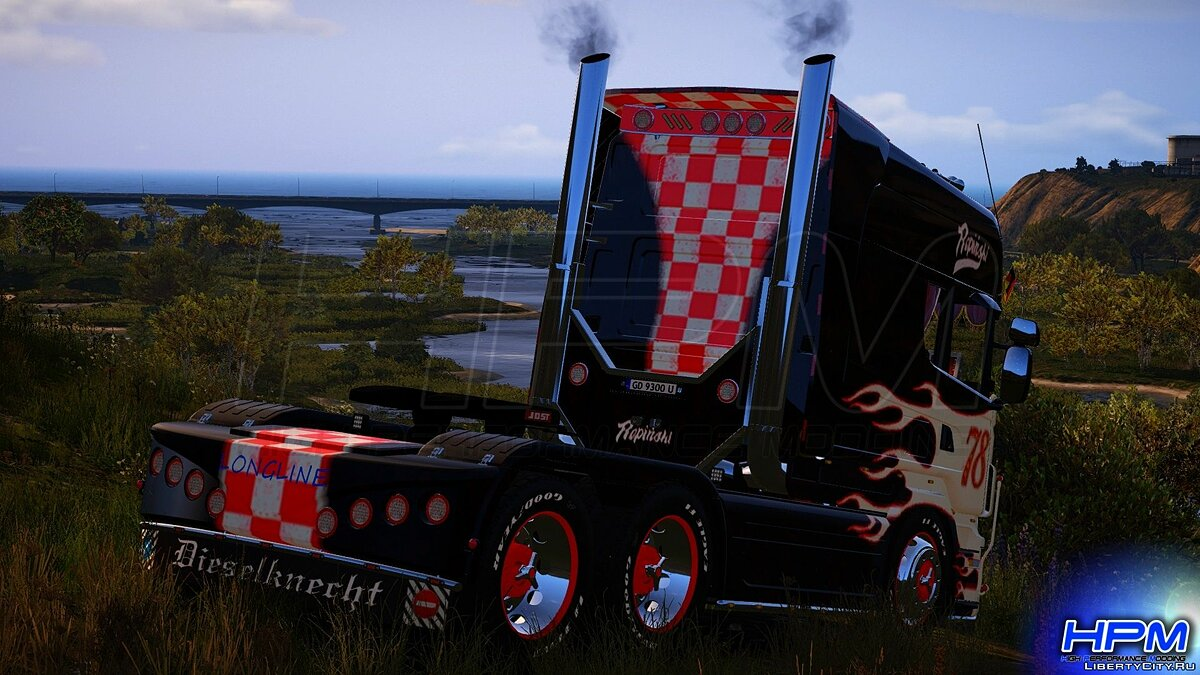 Truck Scania R580 Longline Showtruck 2006 for GTA 5