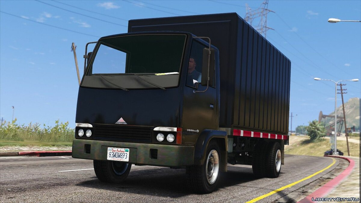Truck Maibatsu Mule Flatbed [Add-On | Replace] 2.3 for GTA 5