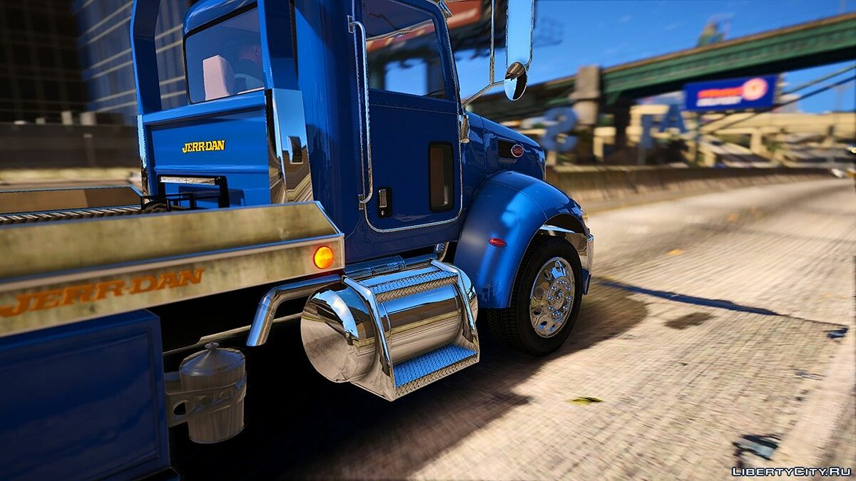 Truck 2019 Peterbilt 337 [Add-On] 1.0 for GTA 5