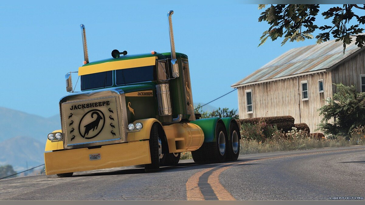 Truck Superior JoBuilt Phantom for GTA 5