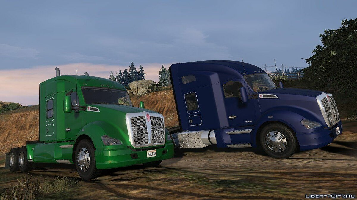 Truck 2016 Kenworth T680 1.0 for GTA 5