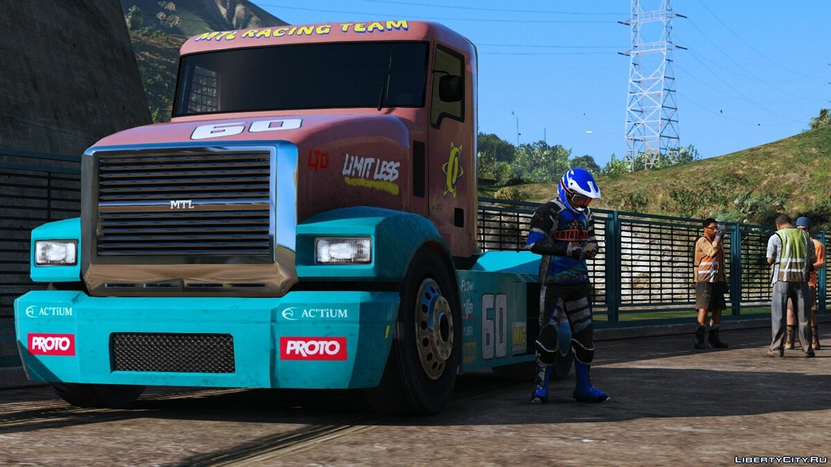 Truck MTL Packer (Racecar) [Add-On | Tuning | Liveries] 1.0 for GTA 5