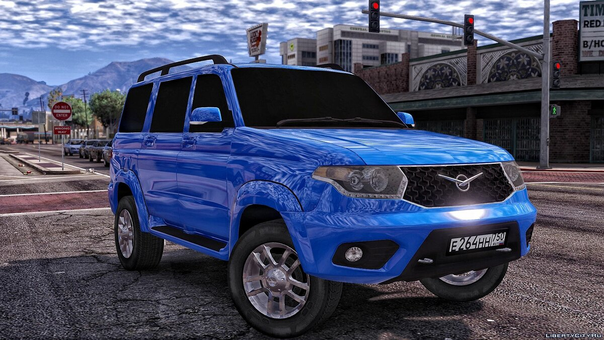 UAZ car UAZ Patriot for GTA 5