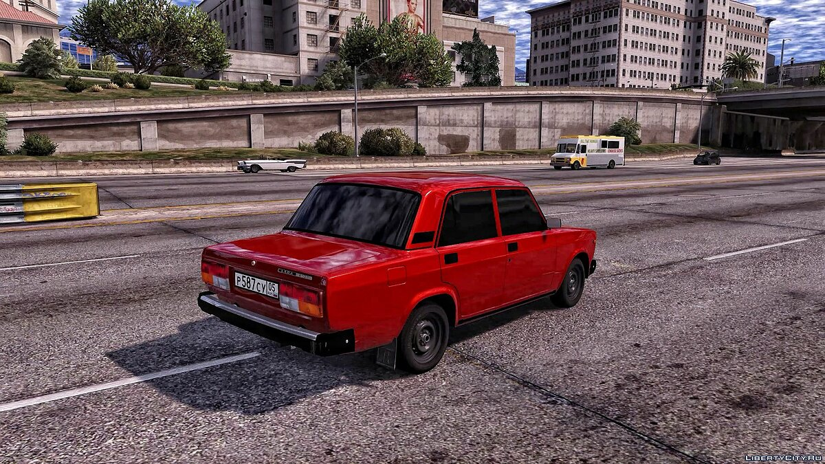 VAZ car Vaz 2107 for GTA 5