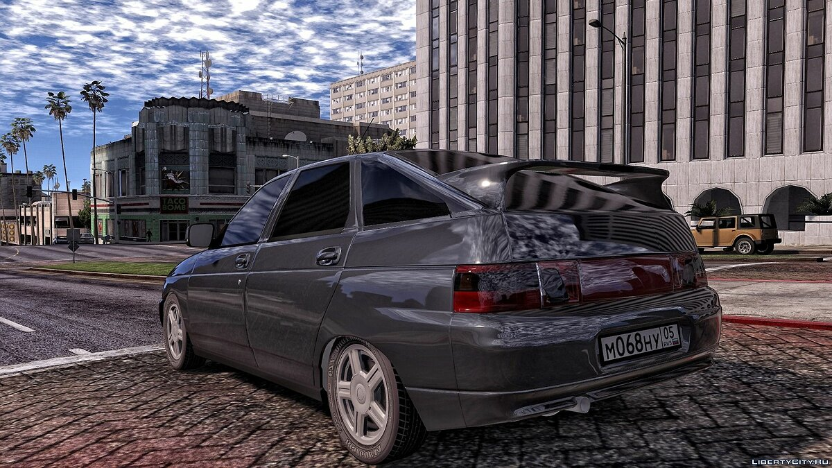 VAZ car VAZ 2112 for GTA 5