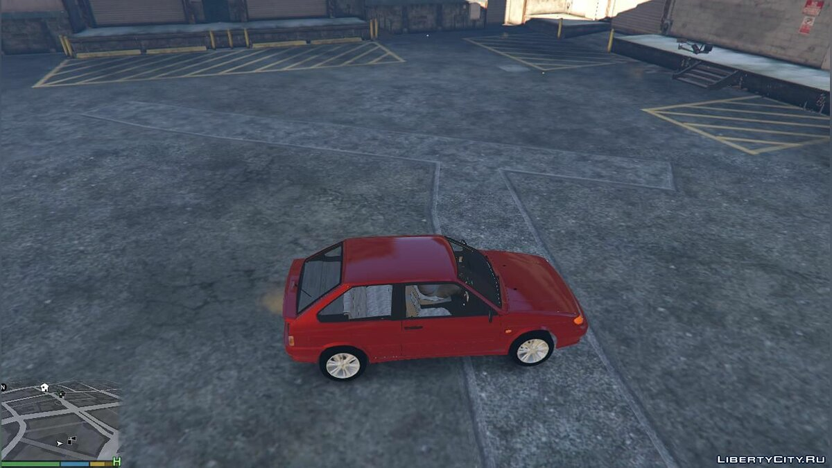 VAZ car VAZ-2113 Lada + Tuning for GTA 5