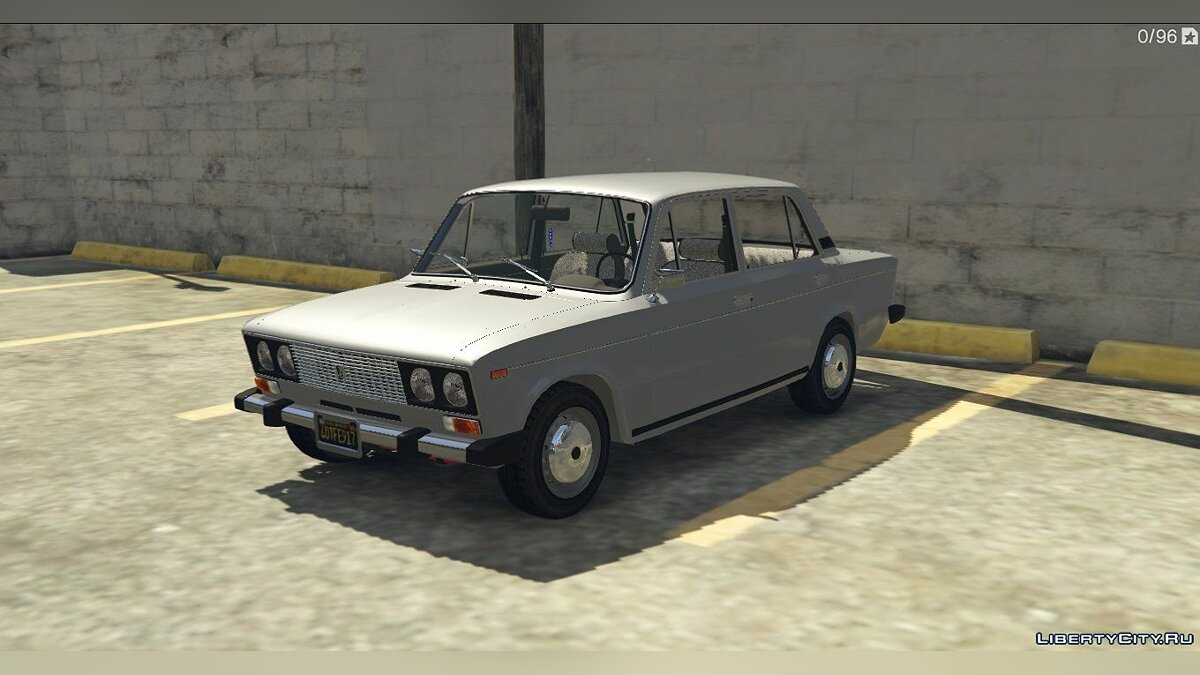 VAZ car VAZ 2103-2106 + Tuning for GTA 5