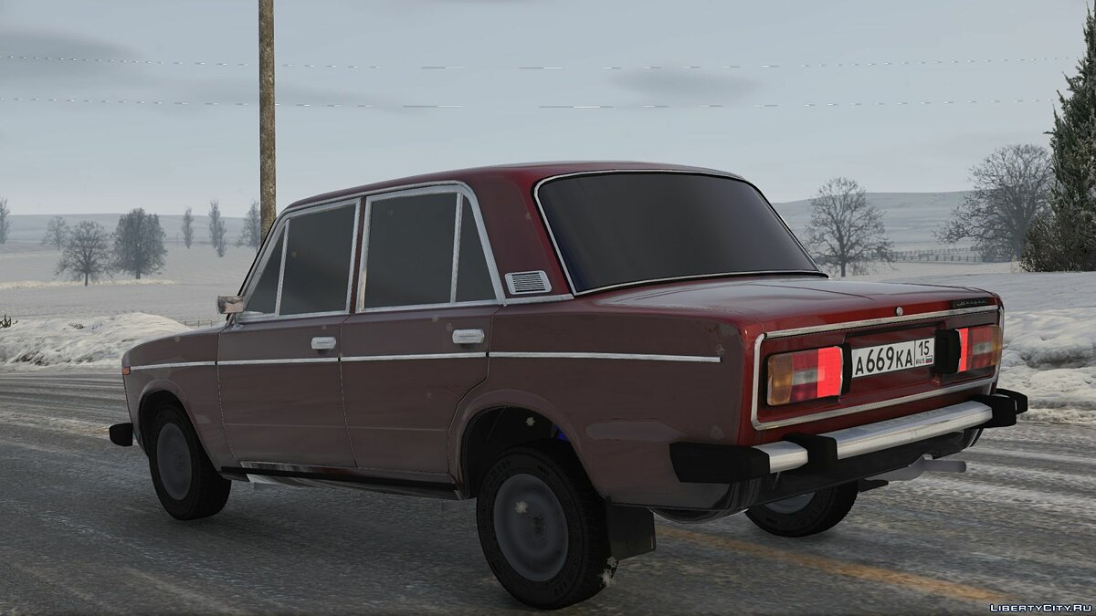VAZ car Vaz-2106 for GTA 5