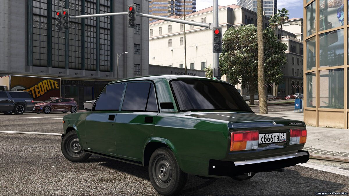 VAZ car Vaz-2107 for GTA 5
