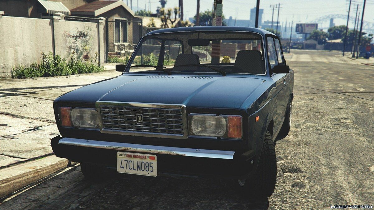VAZ-2107 (Lada Riva) [Add-On / Replace / Tuning] v1.3 for GTA 5 - Картинка #2
