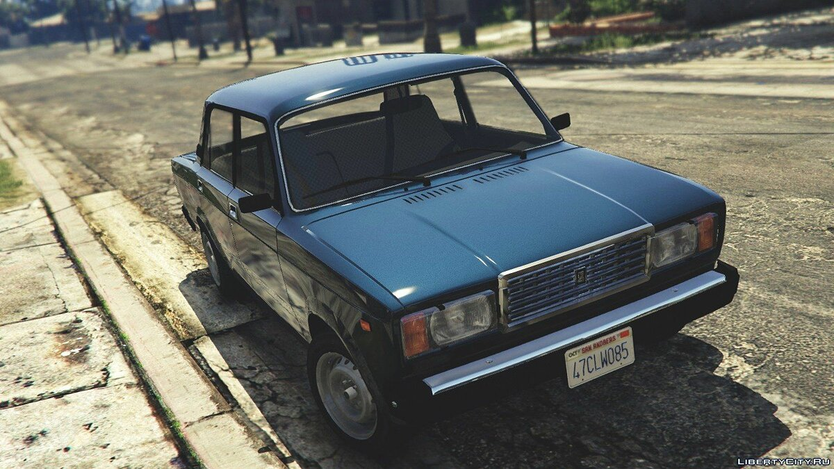 VAZ-2107 (Lada Riva) [Add-On / Replace / Tuning] v1.3 for GTA 5 - Картинка #1