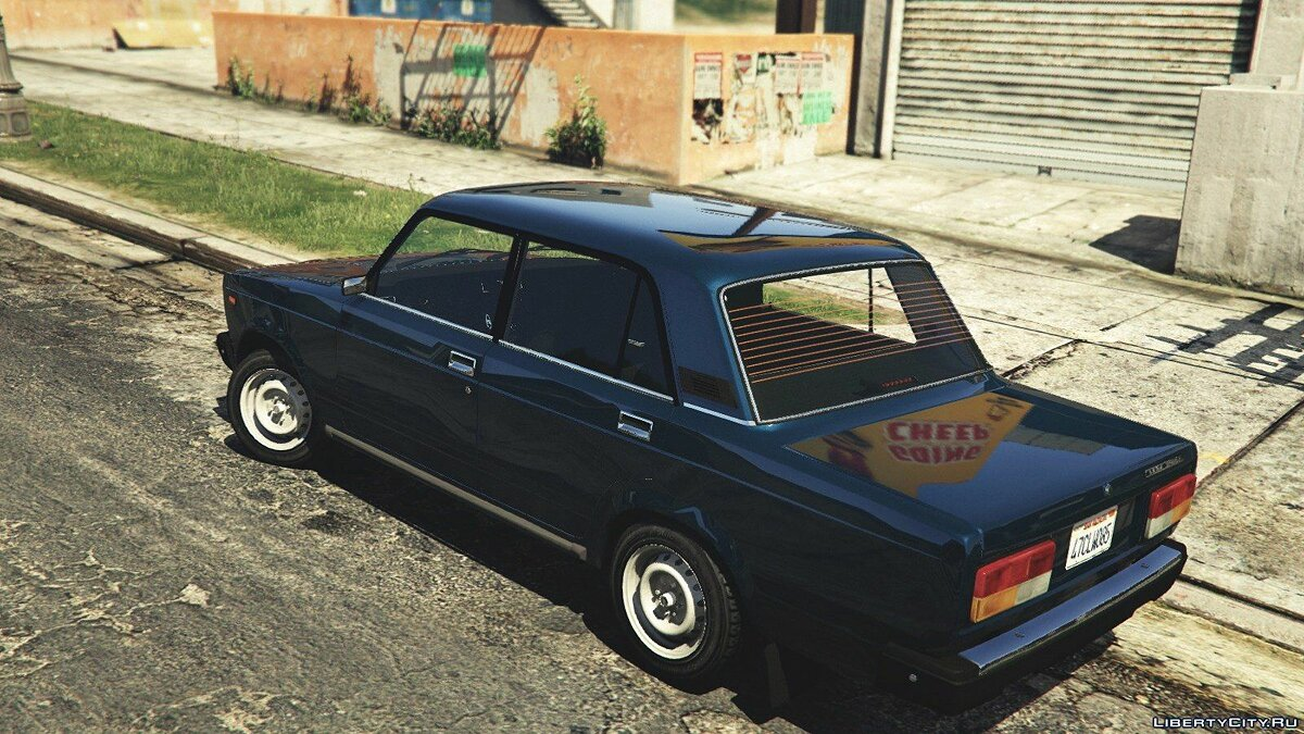 VAZ-2107 (Lada Riva) [Add-On / Replace / Tuning] v1.3 for GTA 5 - Картинка #6