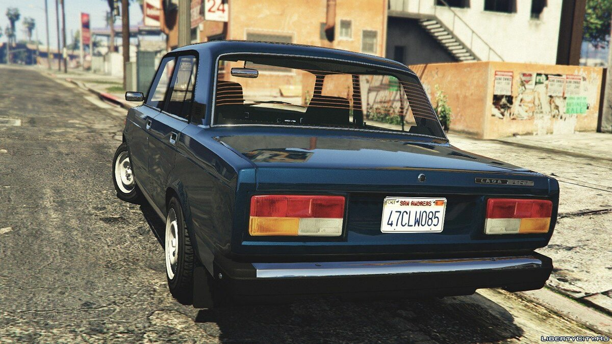 VAZ-2107 (Lada Riva) [Add-On / Replace / Tuning] v1.3 for GTA 5 - Картинка #4
