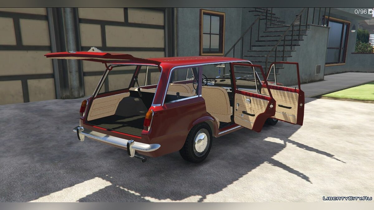 VAZ car VAZ-2102 Lada for GTA 5