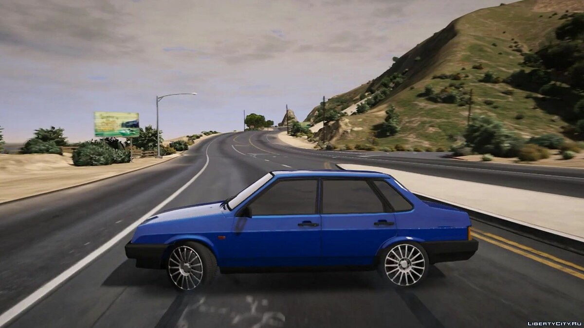 VAZ car VAZ-21099 1.3 for GTA 5