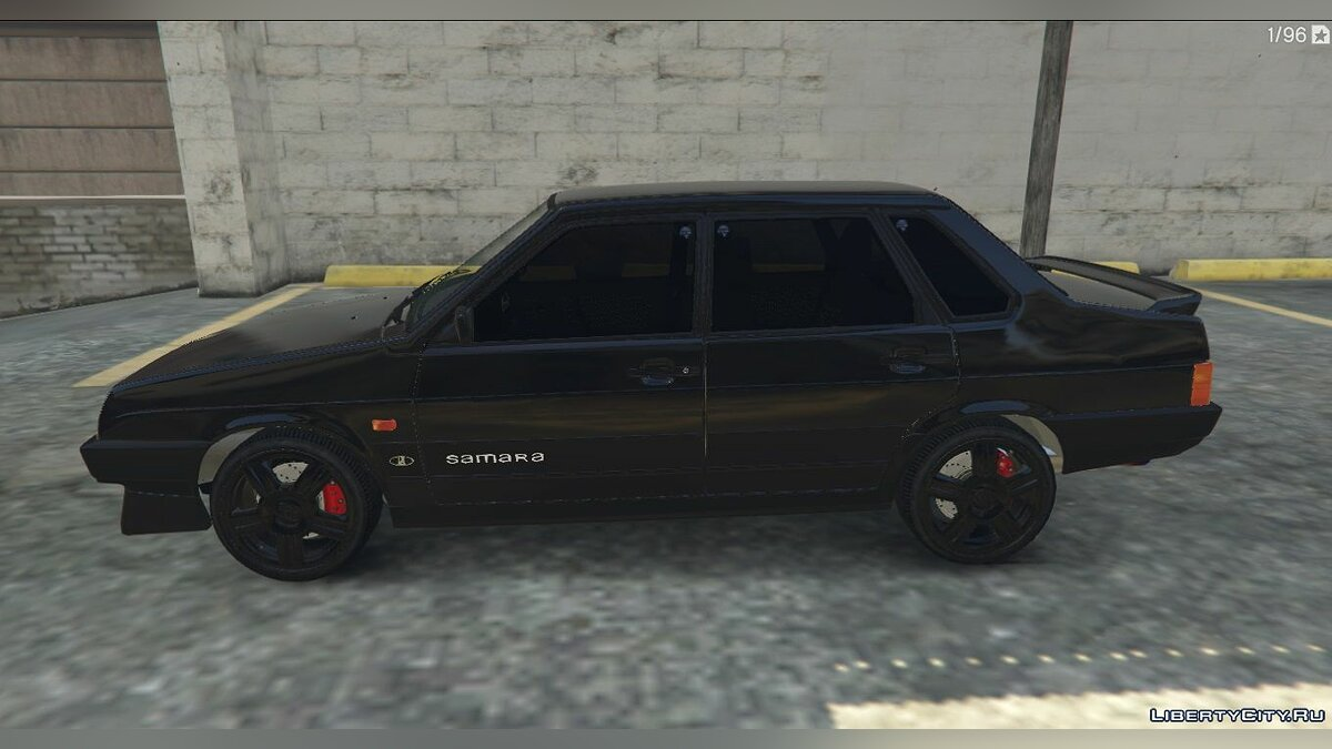 VAZ car VAZ-21099 (LADA Samara) for GTA 5