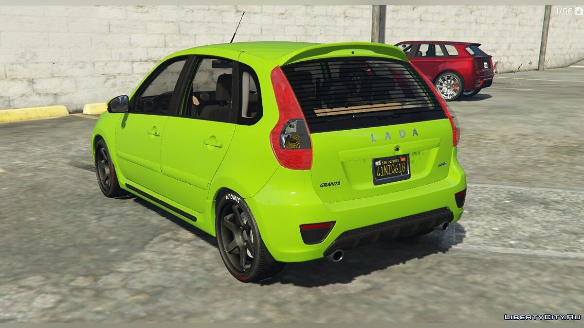 VAZ car Lada Granta HATCHBACK for GTA 5