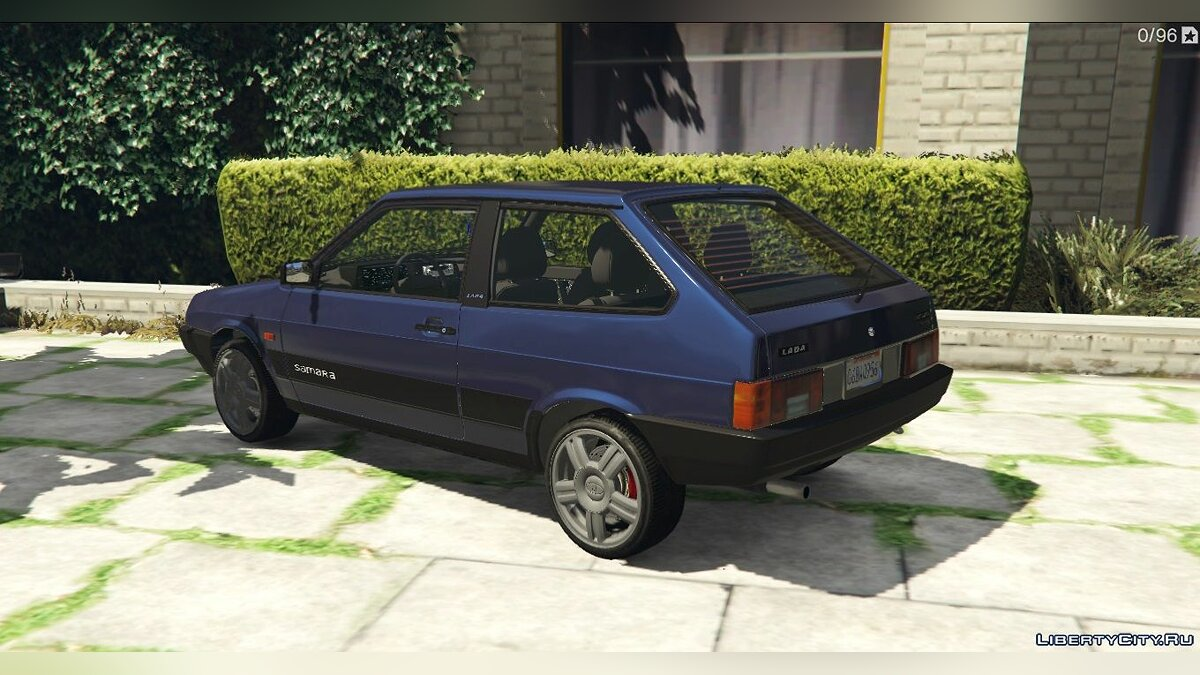 VAZ car VAZ-2108 Lada Samara for GTA 5