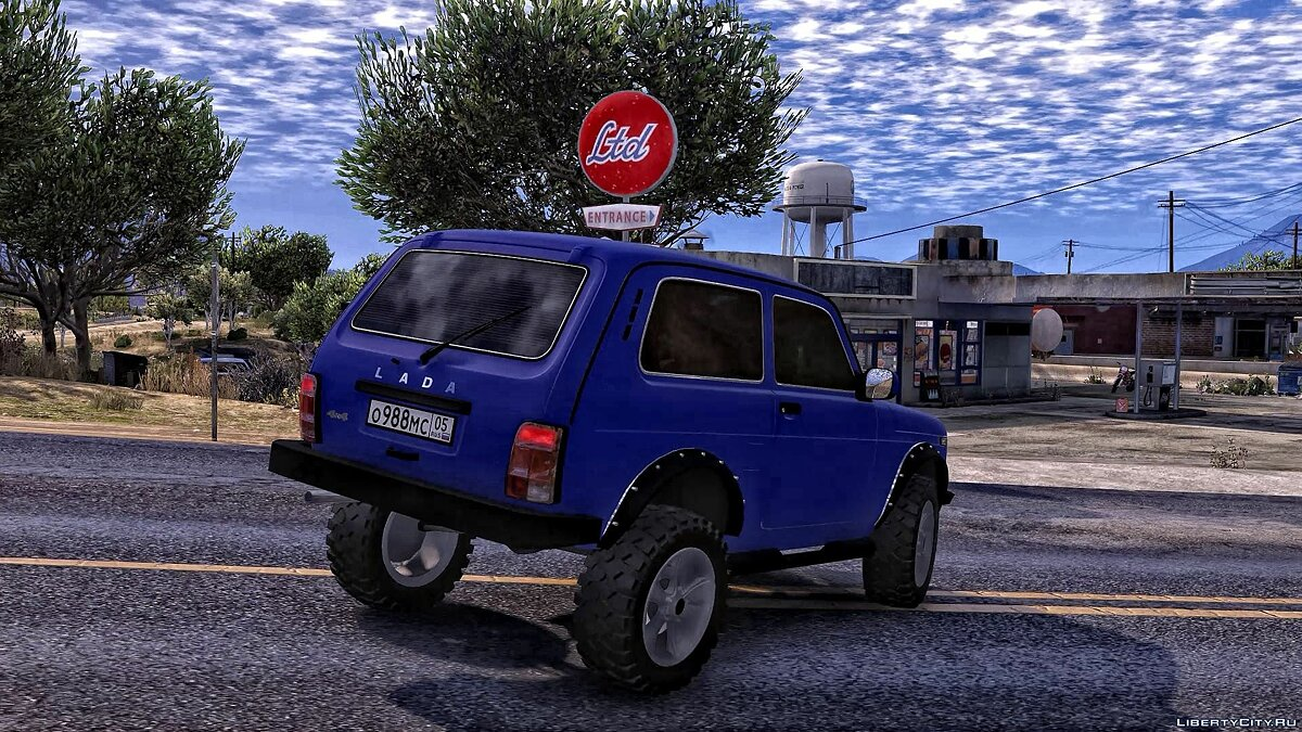 VAZ car Vaz 2121 for GTA 5