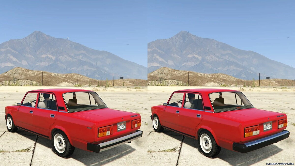 VAZ car VAZ 2105-2107 for GTA 5