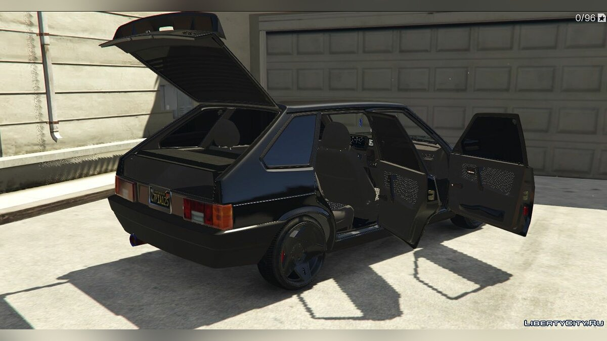 VAZ car VAZ-2109 LADA Samara for GTA 5