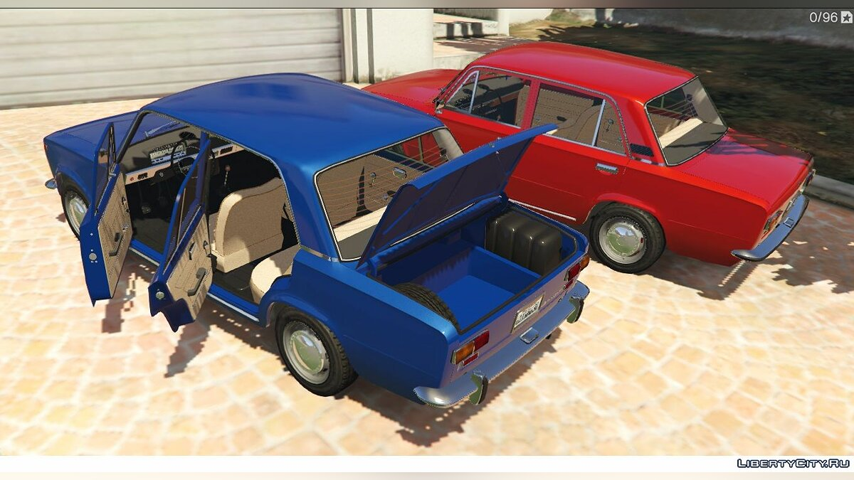 VAZ car VAZ 2101-21011 LADA for GTA 5