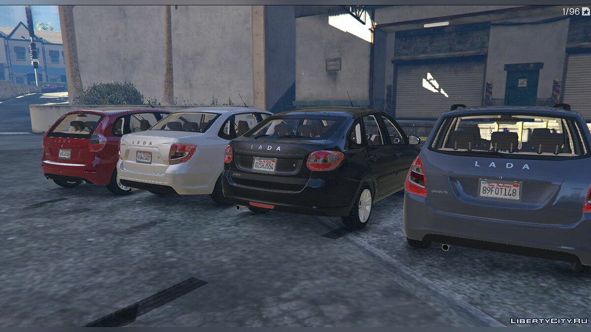 VAZ car Lada granta liftback for GTA 5
